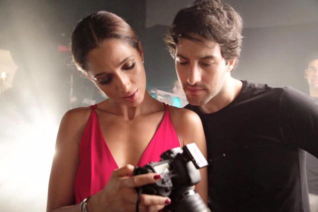 Guilherme Logullo e a atriz Camila Pitanga em Babilônia. Foto: Reprodução/ Gshow