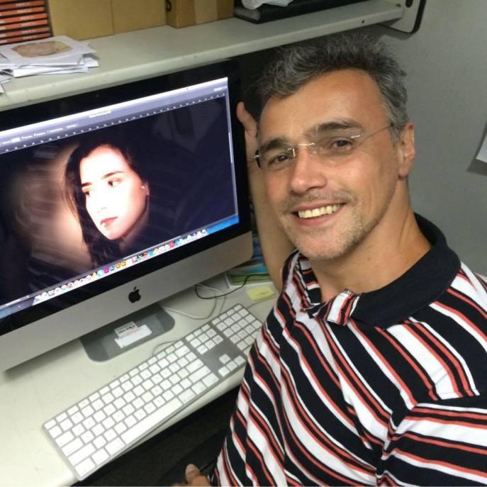 Jorge Brasil. Naturalidade, conhecimento e percepção do mundo televisivo. Foto: Arquivo Pessoal