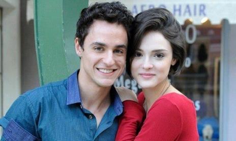Thiago Amaral e a atriz Isabelle Drummond em Sangue Bom. Foto: Reprodução