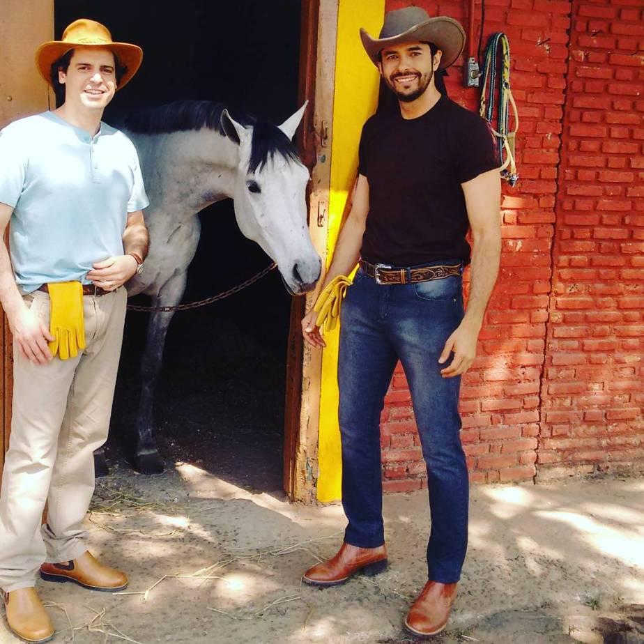 Luiz Carlos Félix e Murilo Meola